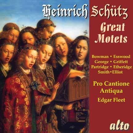 ALC 1118 - Schütz: Great Motets