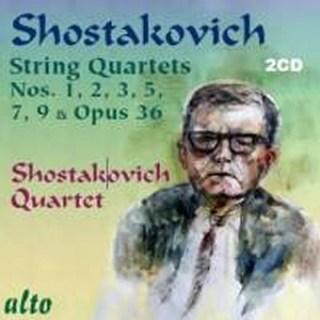 ALC2012 - Shostakovich: String Quartets Nos. 6 and 11-15