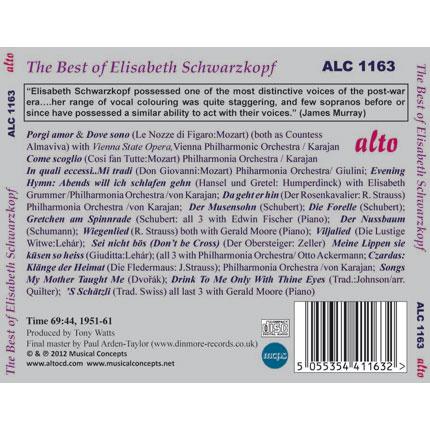 The Best of Elisabeth Schwarzkopf