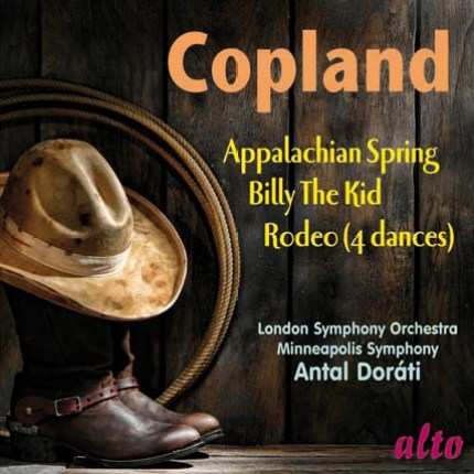 Copland: Appalachian Spring; Billy the Kid Rodeo (4 Dance Episodes)