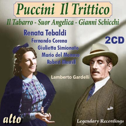 Puccini: Il Trittico - on only 2 discs