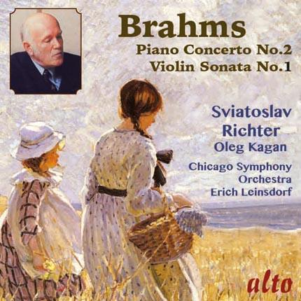 Brahms: Piano Concerto No.2, Op.83 Violin Sonata No.1, Op.78