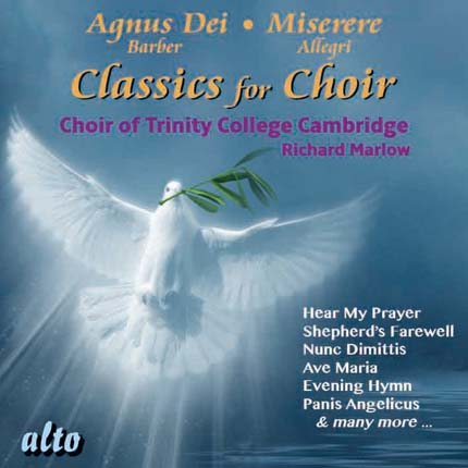 Agnus Dei (Barber) / Miserere (Allegri) Classics for Choirs'