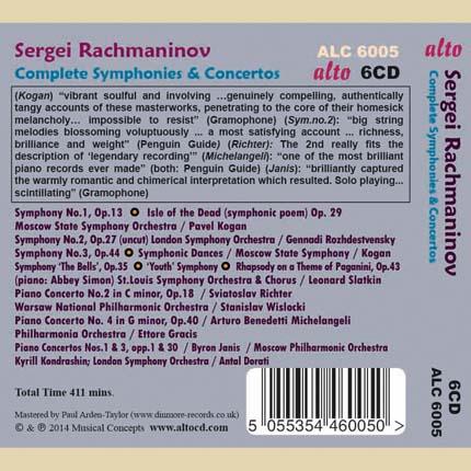 Rachmaninov: Complete Symphonies & Concertos