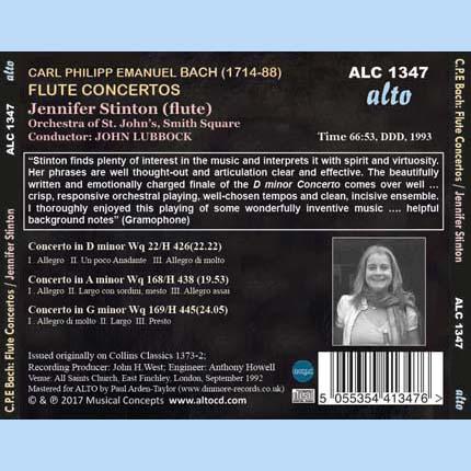C.P.E Bach  Flute Concertos