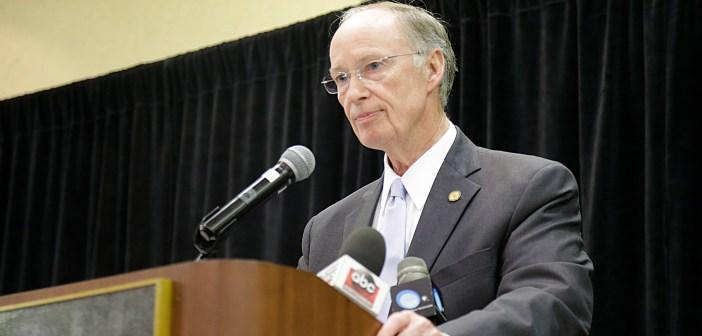 Gov Robert Bentley speaking