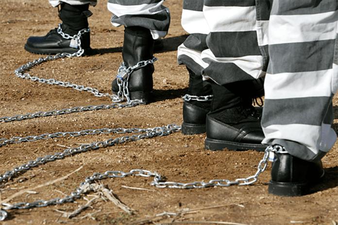 Prison Chain Gang