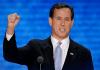 Rick Santorum fist up