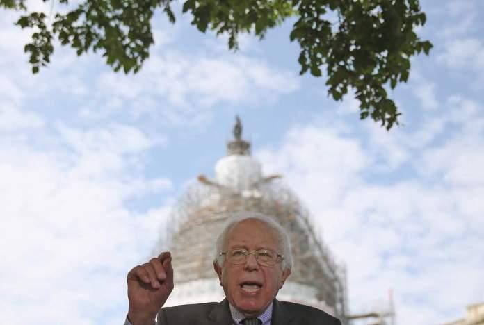 Sen. Bernie Sanders (I-VT) Speaks On Legislation To Eliminate Undergraduate Tuition At Public Schools