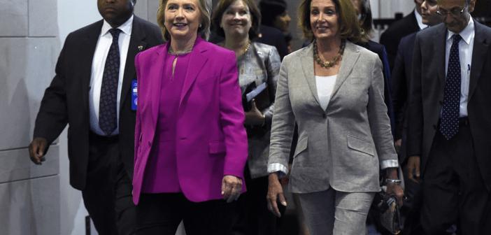 Hillary Clinton Nancy Pelosi