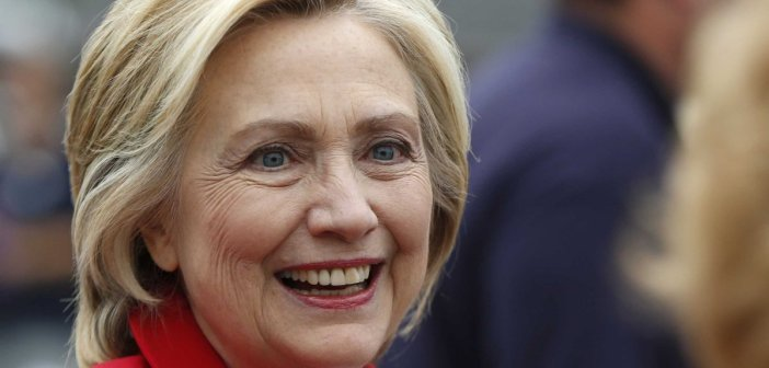 Hillary Clinton closeup