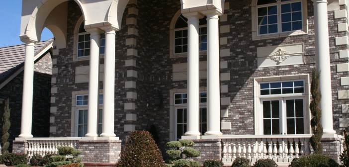 Home with columns