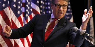 Rick Perry American flag