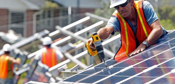 Solar panels energy