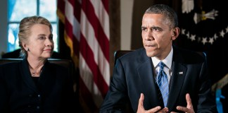 Obama Holds Cabinet Meeting with Hillary Clinton