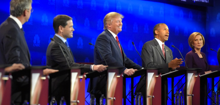 3rd GOP debate in 2015 on CNBC