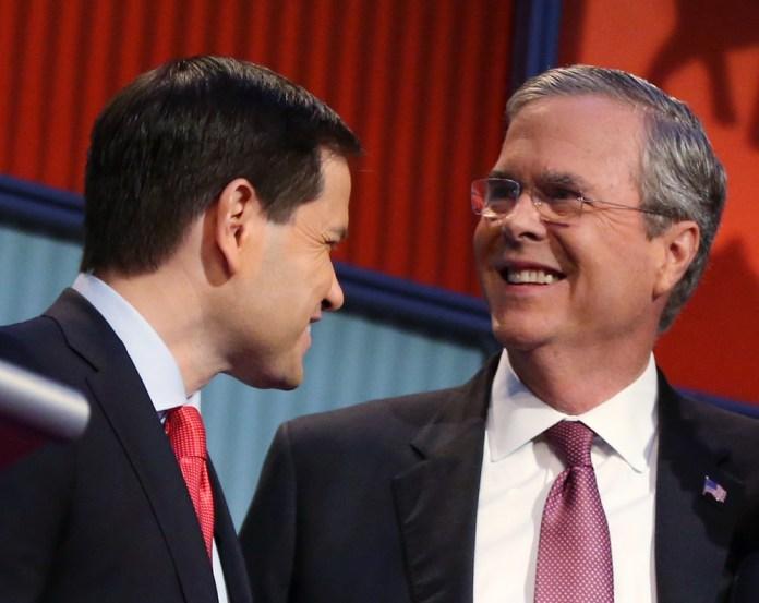 GOP 2016 Rubio Bush