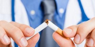 Smokefree no smoking cigarette