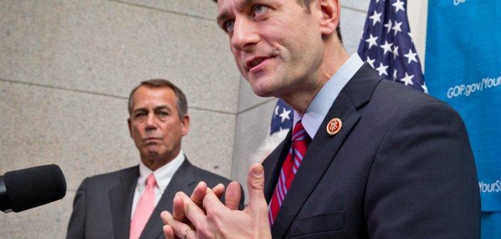 Paul Ryan and John Boehner