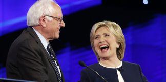 democratic debate Bernie Sanders and Hillary Clinton