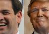 Marco Rubio Donald Trump