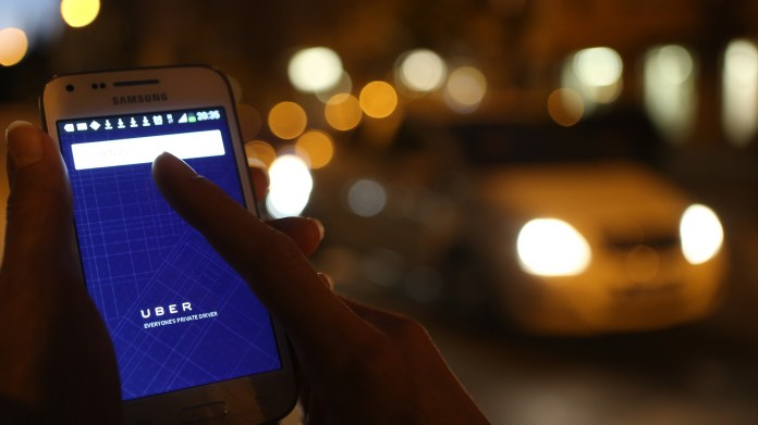 Uber driver app