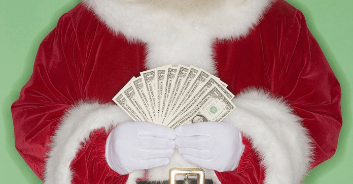 Christmas money_economic stimulus