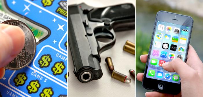 lottery guns wireless