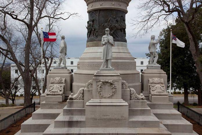 Confederate Memorial Monument Montgomery Alabam