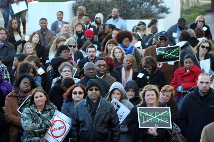 National Association of Social Workers Feb 2016 rally