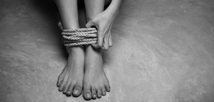 tied up human trafficking