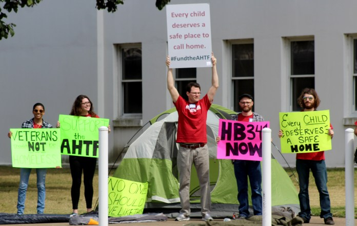 Affordable housing rally