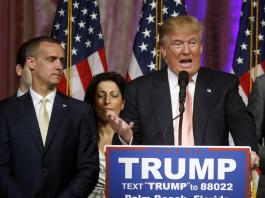 Corey Lewandowski and Trump