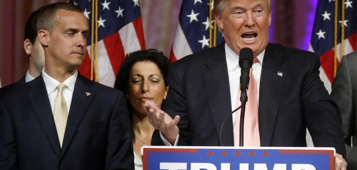 Corey Lewandowski and Trump
