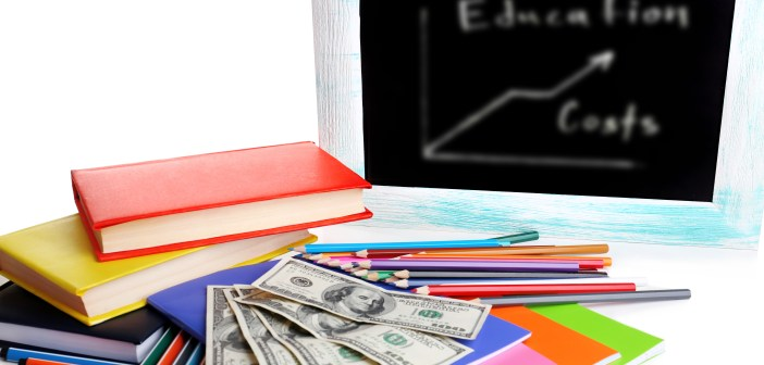 Education Costs blurred