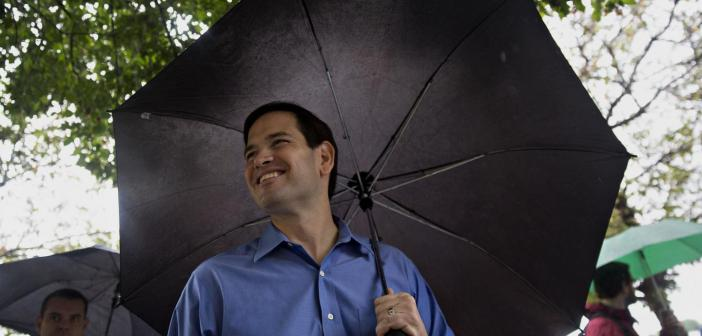 Marco Rubio outdoors in Florida
