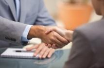lobbyists shaking hands