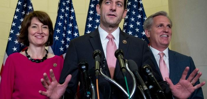 Paul Ryan, Cathy McMorris Rodgers, Kevin McCarthy