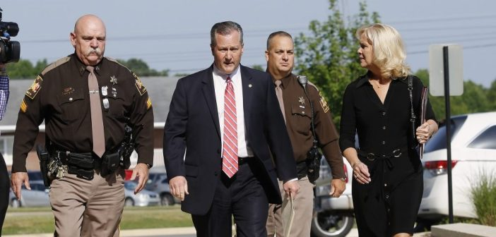 Mike Hubbard goes to court