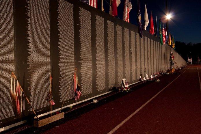Traveling Vietnam Veterans Memorial Wall