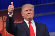 Donald Trump thumbs up