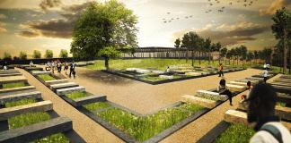 Lynching memorial rendering