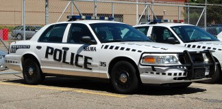 Selma police car