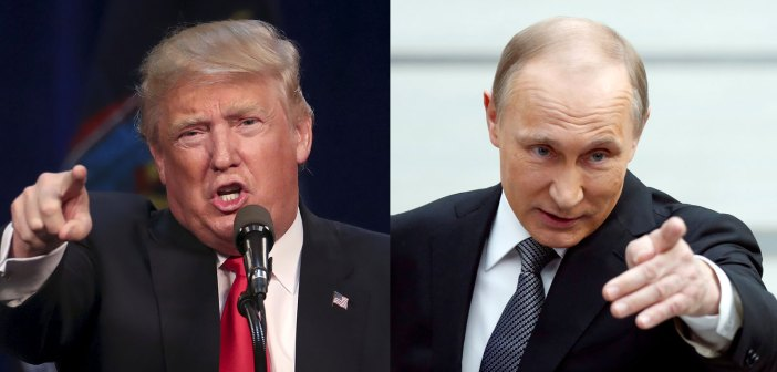 Donald Trump and Vladamir Putin