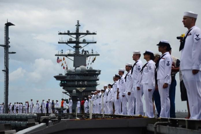 US Navy sailors