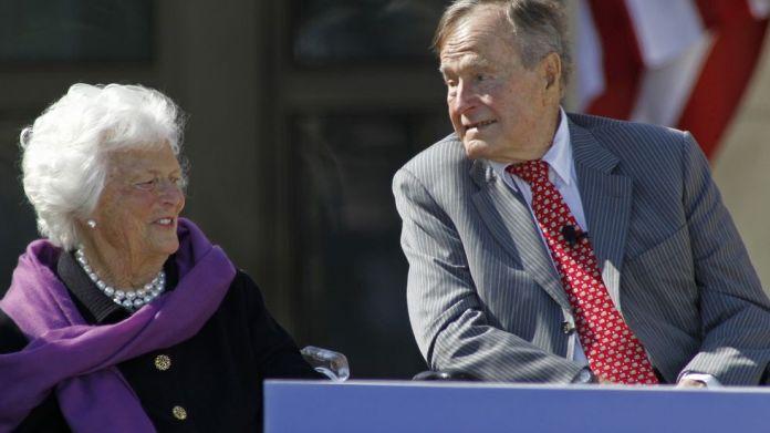 George HW Bush and Barbara