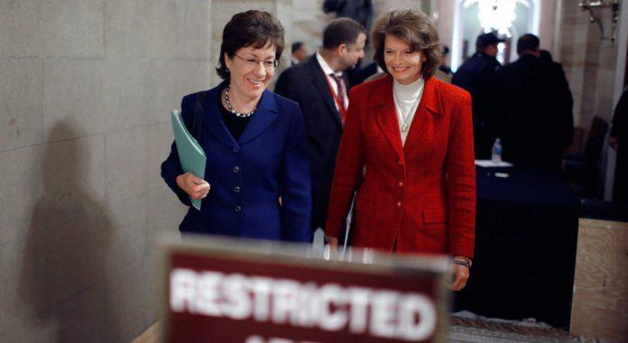 Lisa Murkowski and Susan Collins