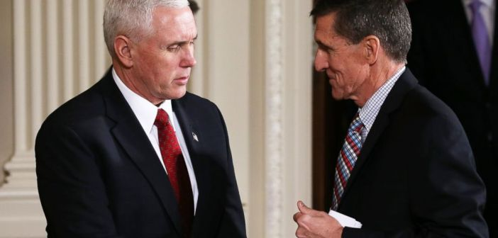 Mike Pence and Michael Flynn