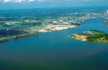 Mobile_Alabama_harbor_aerial_view