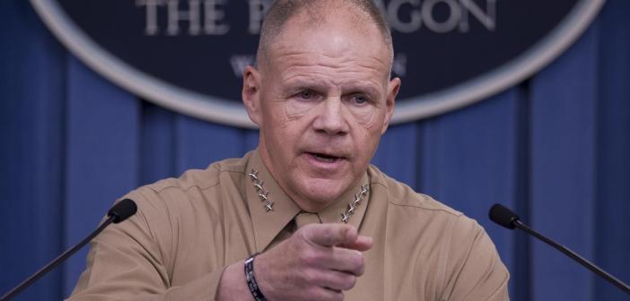 Marine Corps Commandant General Robert Neller
